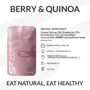 Endurance Races Energy Pouch Berry & Quinoa